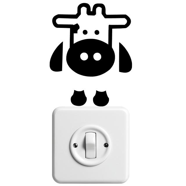 legrační kravička