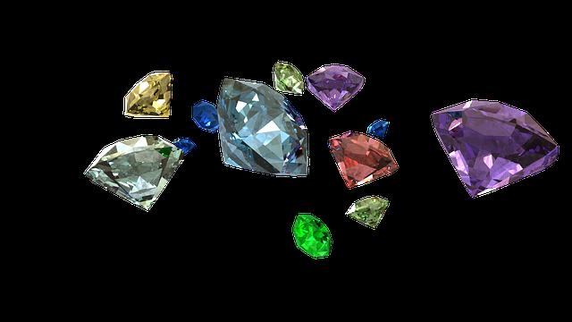 barevné diamanty
