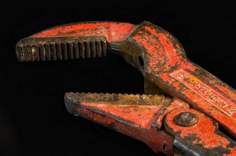 instalatérský klíč